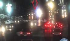 التحكم المروري: تصادم على أوتوستراد انطلياس