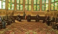 المفتي دريان عرض مع الشيخ الصلح ووفد من سعدنايل للأوضاع العامة بلبنان