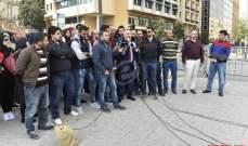 أهالي موقوفي عبرا ينفذون اعتصاماً بصيدا للمطالبة باقرار العفو العام