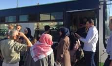 النشرة: دخول 10 باصات سورية الى لبنان لتأمين عودة 950 نازح سوري