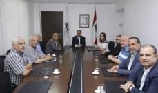 بطيش دعا دولة الامارات الى المساهمة في الاستثمار بالقطاعات اللبنانية المنتجة