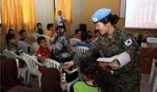 الكتيبة الكوريّة تُقيم حفل افتتاح تجديد مختبر العلوم  في مدرسة قدموس