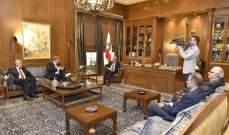 بري استقبل وزير الطاقة والامينة العامة التنفيذية للإسكوا وعرض الوضع المالي مع عربيد