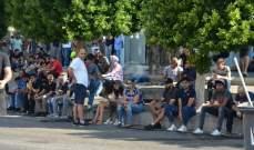 النشرة: تجمع في ساحة إيليا تضامنا مع المتظاهرين في بيروت