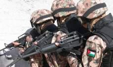 """""""بترا"""": الجيش الأردني أحبط محاولتي تسلل وتهريب سلاح من سوريا للبلاد"""