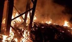 النشرة: اخماد حريق في منطقة الفيلات في صيدا ولا أضرار