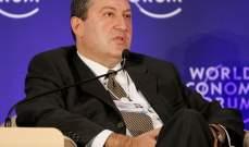 رئيس أرمنيا رفض توقيع أمر رئيس الوزراء القاضي بإقالة رئيس هيئة الأركان العامة للجيش