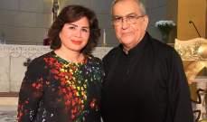 الأب مونس التقى الفنانة شاهين التي أعلنت أنها أحبت أن تصبح راهبة