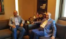 الصفدي التقى مدير مرفأ طرابلس وناشد المسؤولين للقيام بواجبهم