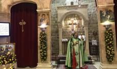 رعية مارجرجس في زحلة أقامت الصلوات والقداديس بعيد مار جرجس