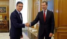 سانتشيث: سأسعى لتصديق البرلمان الإسباني على رئاستي للوزراء