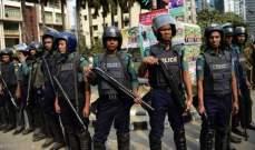 شرطة بنغلادش قتلت 3 من الروهينغا المشتبه بأنهم من مهربي البشر وأنقذت 15 لاجئا