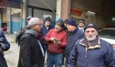 سعد تفقد أوضاع المدينة الصناعية الأولى داعيا للمشاركة بتظاهرة الأحد في صيدا