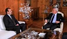 فرنجيه التقى السفير الجزائري وعرض معه الاوضاع الراهنة