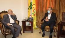 النائب عز الدين التقى السفير أبو سعيد: لدعم مسيرة الدولة في الإصلاحات