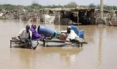 انهيار عشرات المنازل جراء أمطار غزيرة شمالي السودان