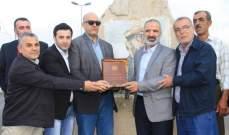 حركة امل وبلدية بنت جبيل افتتحا جادة مصطفى شمران