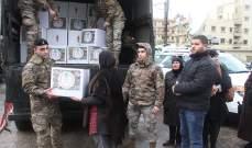 الجيش: توزيع نحو 1000 حصة غذائية لعدد من العائلات في مدينة طرابلس
