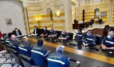 دياب التقى العميد خطار ووعد بمتابعة ملف تثبيت متطوعي الدفاع المدني