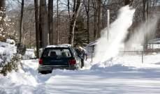 انخفاض قياسي لدرجات الحرارة في بداية العام الجديد بأميركا