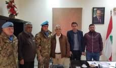 منح بلدة ياطر المواطنة الفخرية للجنرال الإيطالي ديوداتو آبانيارا