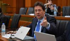 كنعان بعد اجتماع لجنة المال:  اقرار موازنات وزارات السياحة والمهجرين والعمل والصناعة