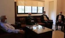 سعد استقبل وفدا من الشيوعي وتشديد على أهمية تعزيز التعاون بين قوى المعارضة