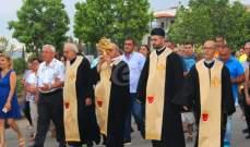 قداس ومسيرة في الكفور مع وصول ذخائر القديس شربل الى البلدة
