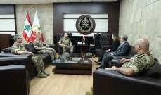 """قائد الجيش التقى وفدا أميركيا من شركة """"SNC"""" ومجموعة """"Syria study groupe"""""""