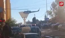 النشرة: الجيش اللبناني يقوم بتدريبات على اخلاء جرحى في النبطية
