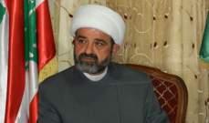 عبد الله: الامام الصدر بات مدرسة رائدة في عالم الالتزام الديني والعمل السياسي
