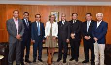 وصول رئيسة منطقة ايل دو فرانس الى لبنان للقاء مسؤولين وتوقيع اتفاقيات تعاون