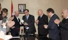 الرياشي مكرماً السفير فوشيه: تمثلون قيم الحرية والمساواة والاخوة