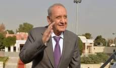 مصادر بري للأخبار: الخلاف مع الخياط سببه منع مسؤول ليبي من دخول لبنان