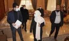 الحريري تابعت ورؤساء بلديات اتحاد صيدا الزهراني الوضع الوبائي والتحضير لمرحلة التلقيح