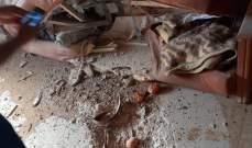 النشرة: سقوط قذيفة اسرائيلية في بلدة الهبارية دون أن تنفجر واقتصرت الاضرار على الماديات