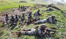 الجيش: مدرسة القوات الخاصة نفذت تمرينا يحاكي مواجهة مجموعات ارهابية