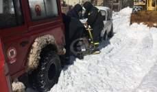 قوى الأمن: طريق فاريا - عيون السيمان سالكة أمام السيارات رباعية الدفع بسبب تراكم الثلوج