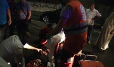 النشرة: جريح في حادث سير في منطقة عبرا