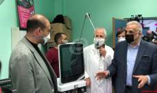 حسن جال في مستشفى بعلبك: الحكومة لن تبخل بتجهيز المستشفيات الحكومية