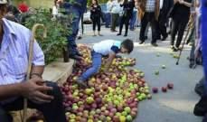 الدفعة الثانية من التعويضات لمزارعي التفاح المتضررين