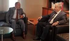 عميد الخارجية في الحزب القومي التقى قنصلي فيتنام وجنوب افريقيا