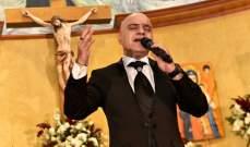 """الفنان روبير شماعة يطلق البوم """"الملك"""" في كنيسة مار شربل الفنار"""