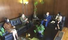 سفير الهند زار صيدا والتقى رئيس غرفة التجارة محمد صالح