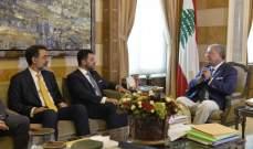 المشنوق التقى سكرتير الرئيس البرازيلي حسين كالوت