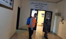 جمعية نور والحزب القومي يعقمان بلدات وحردان: لنصمد ببيوتنا