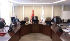 حسن يزور الهيئة الوطنية للدواء في تركيا: هناك إمكانية للتعاون في مجالات تحفيز الصناعة الدوائية الوطنية