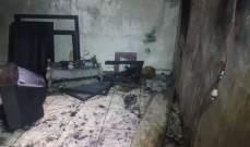 النشرة: احتراق منزل في البرج الشمالي والاضرار مادية