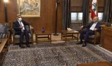 بري التقى المدير العام للامن العام وعرض الاوضاع العامة مع النائب الصمد