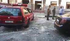 سانا: انفجار عبوة داخل سيارة بمنطقة المرجة في دمشق
